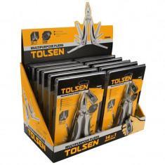 Cleste multifunctional Tolsen, 102 x 46 x 23 mm, otel