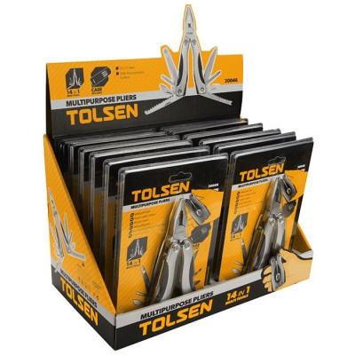 Cleste multifunctional Tolsen, 102 x 46 x 23 mm, otel foto