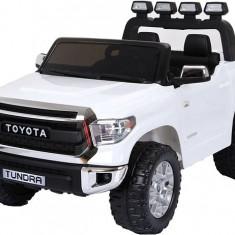 Masinuta electrica pentru copii Toyota Tundra 2x35W pentru 2 copii #Alb