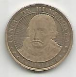 No(4) -moneda-50 bani-Iancu de Hunedoara 2016, Cupru (arama)