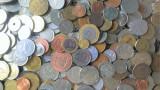 LICITATIE PROMOTIE: 5 KILOGRAME MONEDE DIVERSE DE LA 1 EURO = TOATE CONTINENTELE