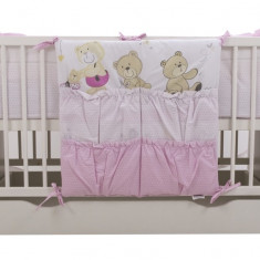 Buzunar patut Teddy Play Pink