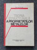 TEORIA STRUCTURALA A PROPRIETATILOR METALELOR - Geru