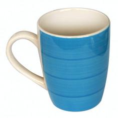 Cana ceramica 390ml albastra Raki