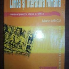 Limba si literatura romana manual pentru clasa a VIII-a- Marin Iancu