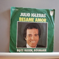 "Julio Iglesias – Besame Amor /Rote …(1978/Philips/RFG) -VINIL/""7 Single/NM"