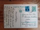 Carte postala 1934 adresată criticului Romulus Demetrescu, semnata Iacob Borcea