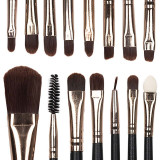 Set 15 pensule profesionale machiaj Daily Beauty