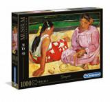Puzzle Museum Gaugain - Tahitian women on the beach, 1000 piese, Clementoni