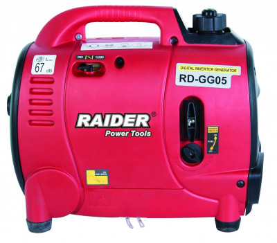 Generator de curent electric pe benzina 1000W Raider Power Tools foto