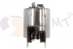 Tanc din inox pentru racire lapte 900L x 2.2 kw monofazic EMT.CTS900-1