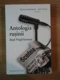 ANTOLOGIA RUSINII dupa VIRGIL IERUNCA , 2009