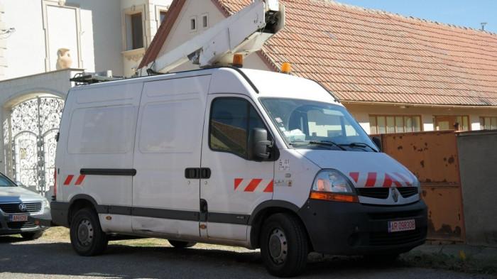 Renault Master cu MACARA / LIFT, 2.5 DCI Diesel, an 2008 luna 7