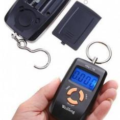 Cantar electronic portabil dubla precizie 45 kg
