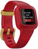 Bratara Fitness Garmin Vivofit Jr.3, Disney Iron Man, Bluetooth (Rosu)