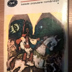 Balade populare romanesti I - Toma Alimos (Editura pentru Literatura, 1967; BPT)