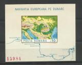 Romania MNH 1977 - Navigatia pe Dunare - LP 950, Nestampilat