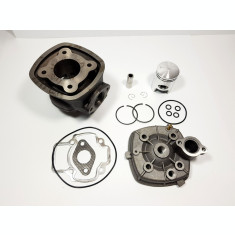 Kit Cilindru Set Motor + Chiuloasa Scuter Derbi GP 1 49cc 50cc 4 colturi APA