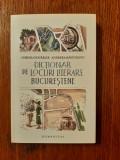 Cumpara ieftin DICTIONAR DE LOCURI LITERARE BUCURESTENE -  Andreea Rasuceanu, Corina Ciocarlie