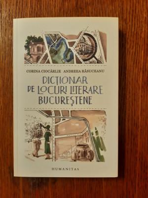 DICTIONAR DE LOCURI LITERARE BUCURESTENE -  Andreea Rasuceanu, Corina Ciocarlie foto