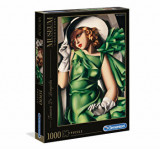 Cumpara ieftin Puzzle Museum Tamara de Lempicka - Young lady with gloves, 1000 piese, Clementoni