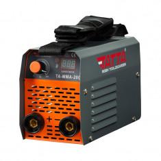 Aparat de sudura Tatta, 7.1 kVA, 200 A, electrod 1.6-3.2 mm, afisaj digital, functie anti-lipire