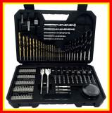 Cumpara ieftin Trusa Burghie Bosch 103 accesorii Metal Zidarie,Adaptor Tubulare,Carota, Burghie