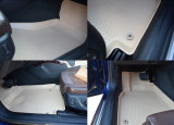 Set 4 covorase auto bej Audi A4 B8 2008-2015, Audi A5 2007-2016 - forma tavita