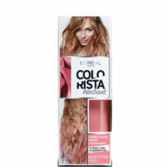 Vopsea temporara pentru par L'Oreal Paris Colorista Washout, Dirty Pink, 80 ml