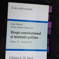 DREPT CONSTITUTIONAL SI INSTITUTII POLITICE - MURTARU TANASESCU
