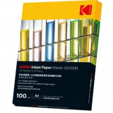 Cumpara ieftin Hartie Kodak print medical HD inkjet, format A4, 130 g, mata, top 100 coli