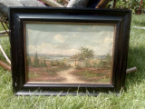 Tablou/peisaj/5/, Natura statica, Ulei, Art Deco, Proline