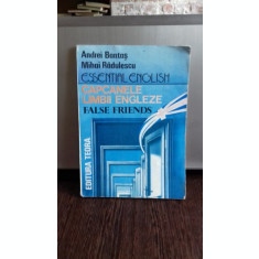CAPCANELE LIMBII ENGLEZE - ANDREI BANTAS