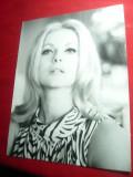Fotografie - Actrita Virna Lisi 1967 in Filmul Evident ,trisez ,dim.= 17x23cm