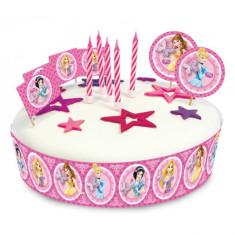 19 Decoratiuni Tort Disney Princess Party