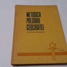PETRE BARGAOANU - METODICA PREDARII GEOGRAFIEI IN SCOALA GENERALA RF17/3
