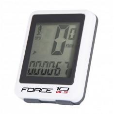 Ciclocomputer Force WLS 10F fara fir alb