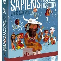 Joc de carti Londji Sapiens - Istoria omenirii
