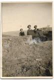 C1374 Vanatori munte romani cu tun frontul de est al doilea razboi mondial