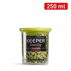 Cutie multiple intrebuintari 250 ml capac verde