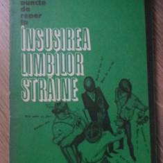 PUNCTE DE REPER IN INSUSIREA LIMBILOR STRAINE - TATIANA MALITA