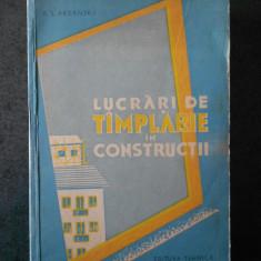 A. S. ARDANSKI - LUCRARI DE TAMPLARIE IN CONSTRUCTII