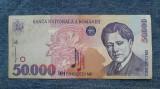 50000 lei 1996 bancnota Romania
