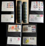 Colectie 362 FDC Italia 1959-1980, plicuri prima zi a emisiunii, serii complete
