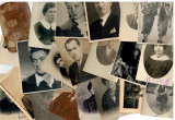 Lot 28 fotografii vechi anii ca.1910-1950