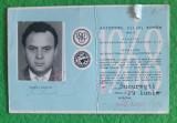 Carnet de membru A.C.R, 1968