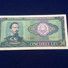 10 Bancnota Romania - 50 lei 1966 - seria 848950 - starea care se vede