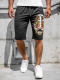 Pantaloni scurți negri bărbați Bolf QN250A