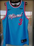 Maiou Baschet Miami NBA albastru / negru, L, M, S, XL