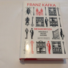 Metamorfoza. Integrala prozei antume Franz Kafka**EDITIE DE LUX--RF10/2